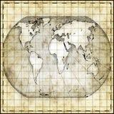 Carte du monde illustration libre de droits