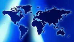 Carte du monde banque de vidéos