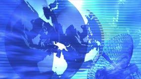Carte du monde de globe de la terre globale illustration de vecteur