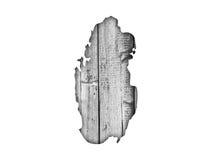 Carte du Qatar sur le bois superficiel par les agents Images stock