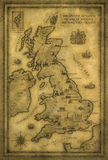 Carte du R-U Images stock