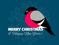 Carte et fond de Noël Photos libres de droits