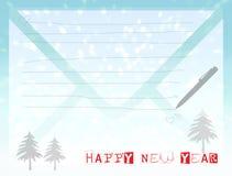 Carte f del buon anno 2014 Fotografie Stock