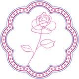 Carte florale de jour de fond et de mère Photo stock