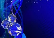 Carte greating de Noël Images libres de droits