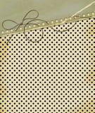 Carte grunge pour le fond de point de polka de conception illustration libre de droits