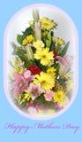 Carte heureuse de jour de mères Images stock