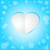Carte heureuse de jour du `s de valentine Photos libres de droits