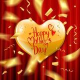 Carte heureuse de jour du `s de mère Images stock