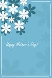 Carte heureuse du jour de mère Image libre de droits