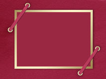 Carte-invitation au fond de claret Images stock