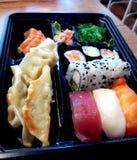 Carte japonaise de nourriture Images stock