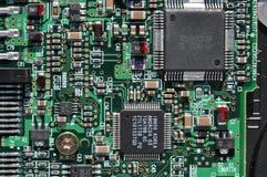 Carte électronique Images stock