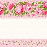 Carte luxueuse d'invitation Photographie stock libre de droits