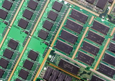 Carte mère de CPU Images stock