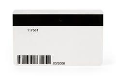 Carte mécanographique en plastique de Digitals photographie stock libre de droits