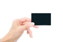 Carte magnétique Photographie stock