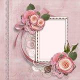 Carte magnifique pour la Saint-Valentin Image stock