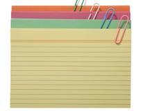 Carte multicolore Photos libres de droits