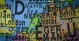Carte néerlandaise de pays sur le globe clips vidéos