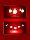 Carte, Natale e nuovo anno 2017 Immagine Stock Libera da Diritti