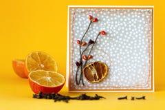 Carte orange Image libre de droits