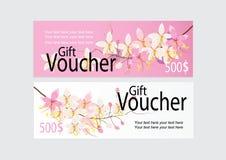 Carte ou étiquette pour la promotion de commercialisation avec la conception rose de fleur de casse Photographie stock