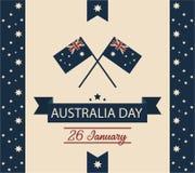Carte ou fond de jour d'Australie Images stock