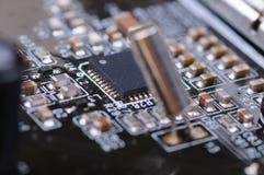 Carte PCB électronique Photographie stock libre de droits