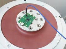 Carte PCB de l'électronique préparée pour l'essai de fiabilité photo libre de droits