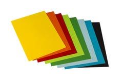 Carte per gli origami Immagini Stock Libere da Diritti