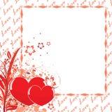 Carte postale à Valentine \ \ \ 'jour de s illustration de vecteur