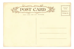Carte postale - 1903 Image stock