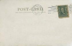 Carte postale 1907 Photo libre de droits