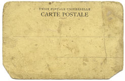 Carte Postale Royalty Free Stock Images