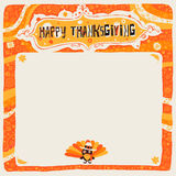 Carte postale, affiche, fond, ornement ou invitation heureux de thanksgiving Photo libre de droits
