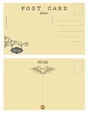 Carte postale Andorre de vintage Photo stock