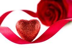 Carte postale au jour de valentines de St Photos stock