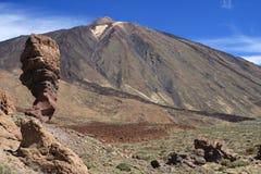 Carte postale d'EL Teide Photos stock