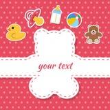 Carte postale d'enfants Photos libres de droits