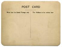 Carte postale de cru Image stock