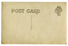 Carte postale de cru Photos libres de droits