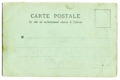 Carte postale de cru Images libres de droits