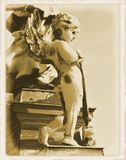 Carte postale de cru Photographie stock libre de droits