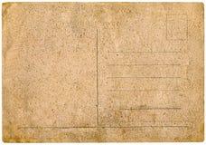 Carte postale de cru. Image libre de droits