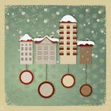Carte postale de cru Photo libre de droits