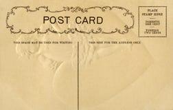 Carte postale de cru avec l'espace pour l'écriture Photographie stock libre de droits