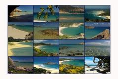 Carte postale de la Sardaigne photo libre de droits