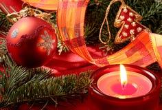 Carte postale de Noël Photographie stock libre de droits