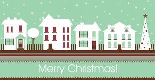 Carte postale de Noël Photo libre de droits